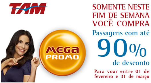 Passagens Aereas Promocionais